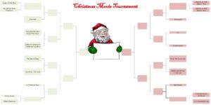 BASYS Processing - Christmas Movie Tournament Bracket Photo